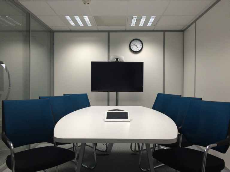 chairs conference room corporate indoors