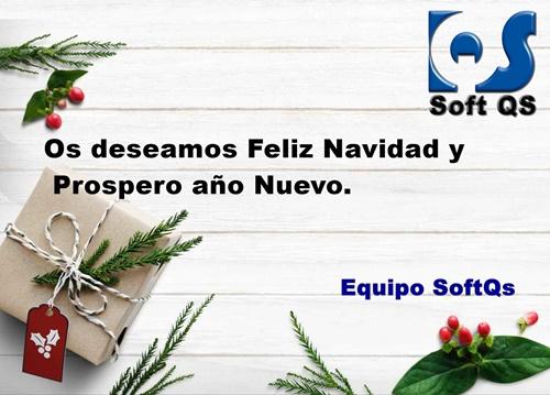 SoftQs os desea FelizNavidad