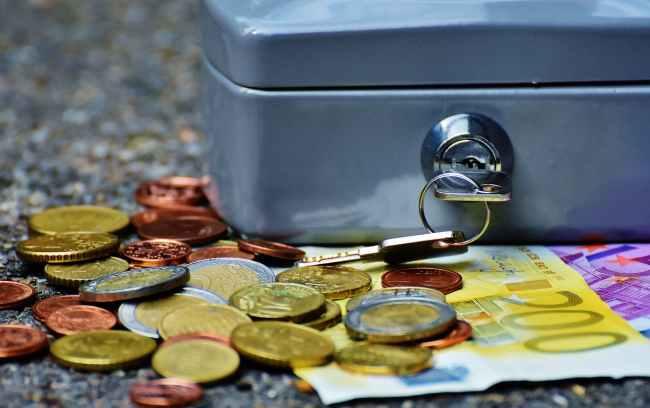 bank banknotes bills business